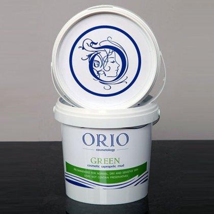 Zaļās ārstnieciskās sapropeļa dūņas Orio, 1kg
