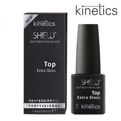 Želejlaka Kinetics Shield Extra Gloss Top Coat, 15ml