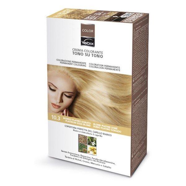 Matu krāsa 10.3 Zelta platīna blondīne