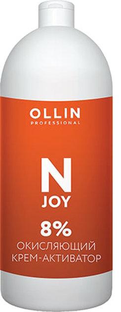 Oksidējošais krēms-emulsija OLLIN N-JOY 8%, 1L