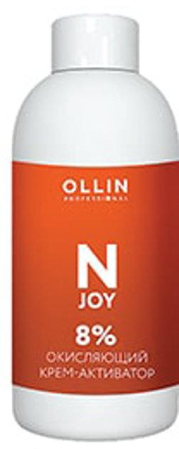 Oksidējošais krēms-emulsija OLLIN N-JOY 8%, 100ml
