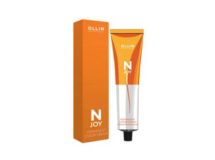 Noturīga krēmveida matu krāsa OLLIN N-JOY Permanent Color Cream, 100ml