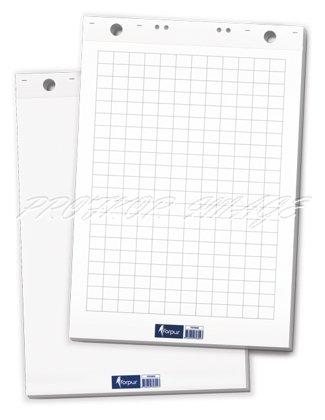 Papīrs FLIPCHART tāfelēm, 65x100cm, 50lpp, balts