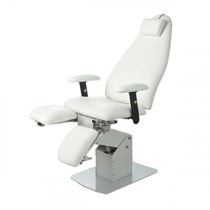 Pedikīra krēsls Silver Fox, balts 2232В