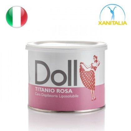 Rozā vasks Doll ar titāna dioksīdu, 400ml