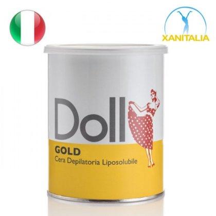 Zelta depilācijas vasks Doll, 800ml