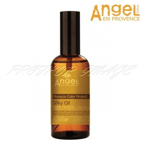 Eļļa krāsotiem matiem Angel En Provence Morocco color protect Silky oil, 100ml