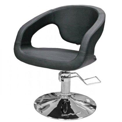 Hidraulisks klienta krēsls, melns 332
