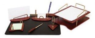 Komplekts Forpus no koka, 7 priekšmeti, bordo krāsā