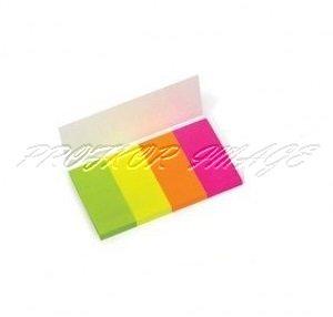 Indeksi Forpus, 20x50mm, 160lpp, neona krāsa, papīra