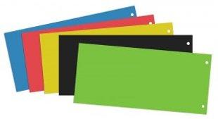 Dokumentu atdalītājs kartona, 10.5 x 24 cm-100 gb