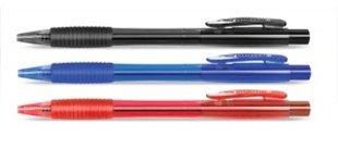 Lodīšu pildspalva CLICKER