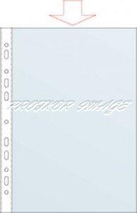 Dokumentu kabatiņas Forpus A4, 30 mic, 100 gab, matētas