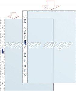 Dokumentu kabatiņas Forpus A4, 40 mic, 100 gab, glancētas