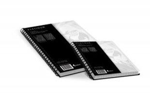 Klade Forpus PLATINUM ar spirāli A4, 100 lpp, līniju