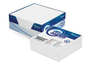 Papīrs piezīmēm kastītē 9 x 9 cm, 300 lpp, balts