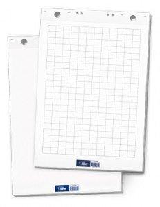 Papīra bloks Flipchart balts 60x85cm, 20lpp