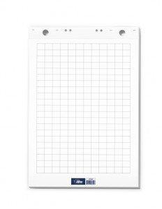 Papīra bloks tāfelēm Flipchart rūtiņu 60x85cm-50 lpp.