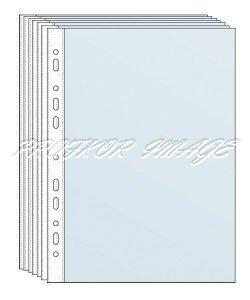 Dokumentu kabatiņas Forpus A4, 40 mic, 100 gab, matētas