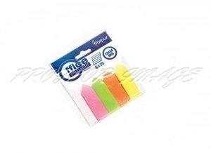Papīra indeksi-bultiņas Forpus, 4 krāsas, 15x50mm, 200lpp