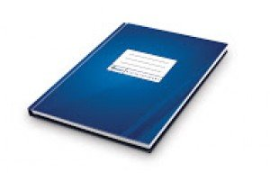Kantorgrāmata Forpus A4, 96lpp, rūtiņu, matēta, zila