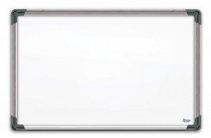 Baltā magnētiskā tāfele alumīnija rāmī 120x180 cm