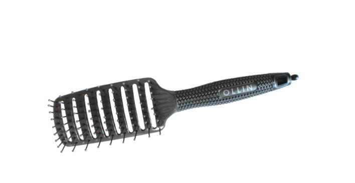 OLLIN plastmasas matu suka matu veidošanai, vidēja izmēra