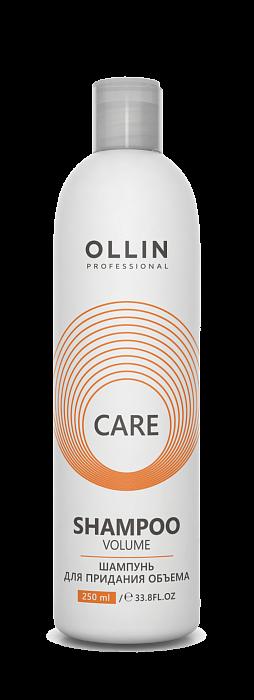 Šampūns matu apjomam OLLIN Care Volume Shampoo, 250ml