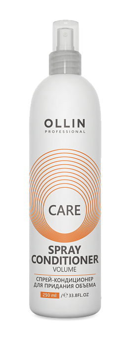 Kondicioneris matu apjomam OLLIN Care Volume Spray Conditioner, 250ml