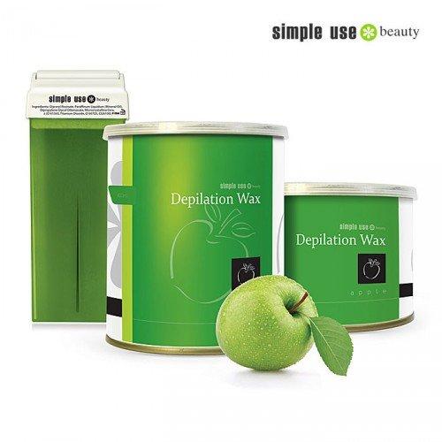 Depilācijas vasks Zaļais ābols Simple Use, 100ml