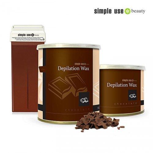 Šokolādes depilācijas vasks Simple Use, 100ml