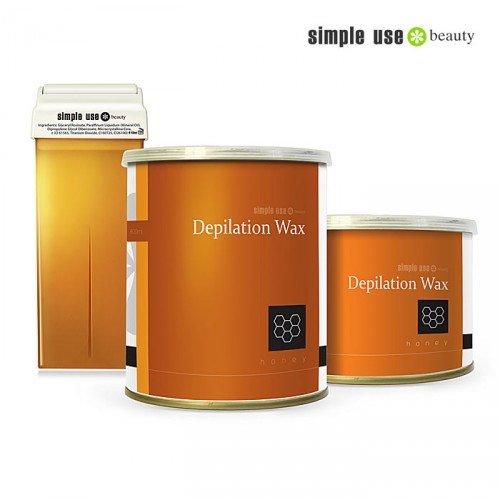 Naturālais medus depilācijas vasks Simple Use, 100ml