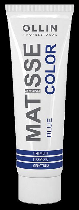 Akvamarīna tiešas iedarbības pigments OLLIN Matisse Color Aquamarine, 100ml